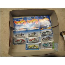 8 Hotwheel Motorcyle Toys In Packages