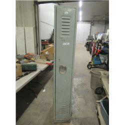 """Steel Locker 76""""H 12""""W 24""""D"""