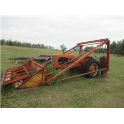 AC WD45 2PH 540 PTO w Farm Hand F110- NOT RUNNING  - Located in Arborg to View Call Eric 1-204-642-2