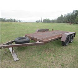 """BH 15"""" Deck 6"""" W Tandem Tilt Deck- Located in Arborg to View Call Eric 1-204-642-2074"""
