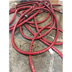 LOT OF RED G1074 BREWER'S HOSE