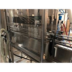 CASK BREWING SYSTEM WITH 10 HEAD CANNING LINE, TABLE IN-FEED, FILLER, CAN SEALER, DRYER, CONVEYOR,