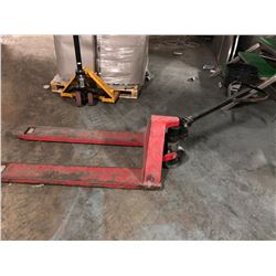 RED PALLET JACK (POOR CONDITION)