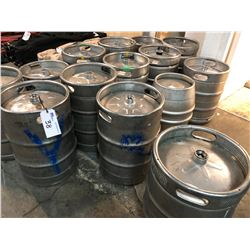 ALL EMPTY BEER KEGS IN BUILDING (ANY KEGS OR CASKS WITH ANY CONTENT ARE NOT INCLUDED)