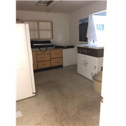 CONTENTS OF ALL SMALL OFFICES/ROOMS ALONG WEST SIDE OF BUILDING INC. PHOTOCOPIERS, TABLES,