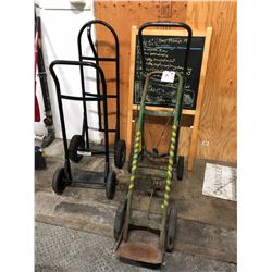 ASSORTED HAND CARTS AND DOLLIES
