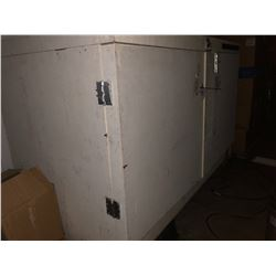 LARGE SHOP BUILT COOLER