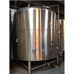 2011 ACCENT 100 HL CAPACITY FV STAINLESS STEEL JACKETED TANK, MODEL RSL 11037-1