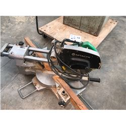 HITACHI 8 1/2  SLIDING COMPOUND SAW