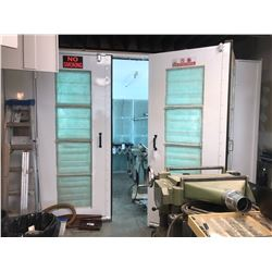 STANDARD TOOLS AND EQUIPMENT CO. FINISHING PAINT BOOTH, MODEL MSFB-1000, 10,084 CFM, FIRE