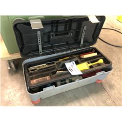 TOOLBOX AND ASSORTED CONTENTS
