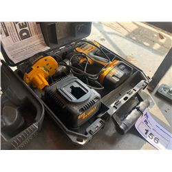 DEWALT 14.4 V DRILL WITH BATTERIES AND CHARGER