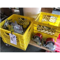 MOBILE CART WITH CONTENTS INC. CASTERS, HARDWARE AND MORE