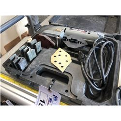 PORTER-CABLE PROFILE SANDER WITH CASE AND ACCESSORIES