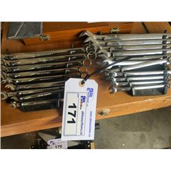 SET OF MASTERCRAFT SAE AND METRIC WRENCHES