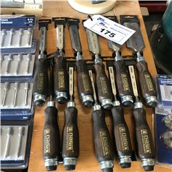 LOT OF APPROX. 10 NEW NAREX CHISELS
