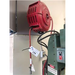AIR LINE REEL AND ATTACHED AIR LINE