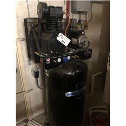 INDUSTRIAL AIR 80 GALLON, 5 HP COMPRESSOR, 230 V, 1 PH, DUAL OUTLET, 175 PSI, *DAY 2 REMOVAL ONLY*
