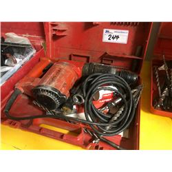 HILTI TE 22 HAMMER DRILL WITH BITS AND CASE