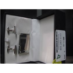 MONEY CLIP AND CUFFLINKS