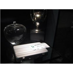 GLASS APPLE.TROPHY, MINI BRIEFCASE
