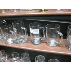 6PC GLASS MUGS
