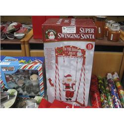 MR.CHRISTMAS SUPER SWINGING SANTA