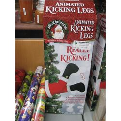 MR.CHRISTMAS ANIMATED KICKING LEGS 16 IN LONG