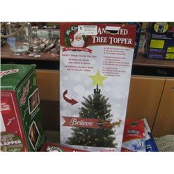 MR.CHRISTMAS ANIMATED TREE TOPPER