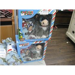 2PC REINDEER IN HERE A BOOK AND PLUSH GIFT SET