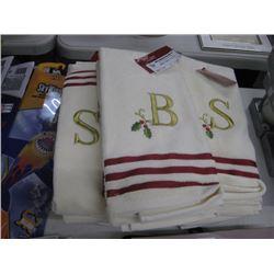 5PC COTTON HAND TOWELS