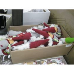 BOX OF ASSORTED GNOMES
