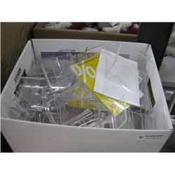 BOX OF PICTURE STANDS