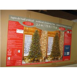 7.5 FT PRELITE CHRISTMAS TREE