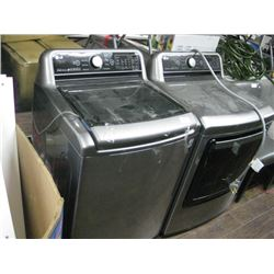 LG WASHER / ELECTRIC DRYER BANGED UP