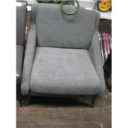 GREY FABRIC GUEST CHAIR