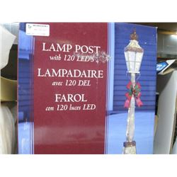 LAMP POST WITH 120 LEDS