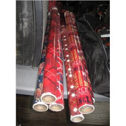 6PC CHRISTMAS WRAPPUNG PAPER