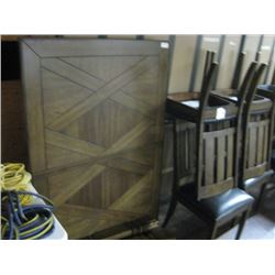 SMALL DINING ROOM TABLE WITH 4 CHAIRS