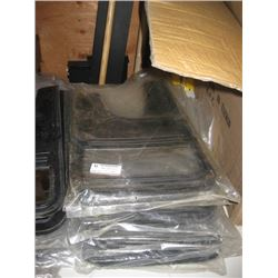 6 SETS OF RUBBER MUD FLAPS