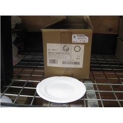 24PC WBP71 BUCKINGHAM WHITE 7.25 INCH PLATE