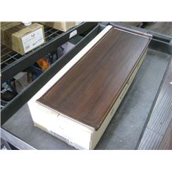 4PC ZCAWWRT51 WOODEN RECTANGLE BUFFET TRAY 22.8 X 7.18