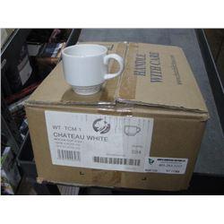 24PC WTTCM1 CHATEAU WHITE MOCHA CUP 3.5OZ CHURCHILL