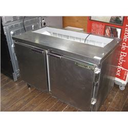 BEVERAGE AIR 4FT REFRIGERATED PREP TABLE