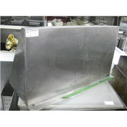 31 INCH STAINLESS OVERSHELF