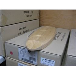 3PC ZCAWWT21 IGNEOUS WOODEN TRAY 20 INCH CHURCHILL