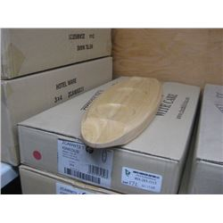 4PC ZCAWWT21 IGNEOUS WOODEN TRAY 20 INCH CHURCHILL