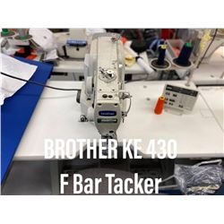 Brother Model KE 430F Bar Tacker
