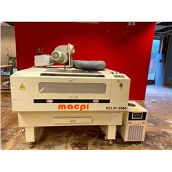 Macpi Model 923-37 Laser Cutting & Engraving machine