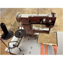 Techsew Model 2750 Cylinder Leather Sewing Machine